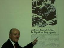 Dr. Berman presentation at Vietnam US Embassy