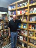 Dr. Larry Berman at Book Street in Vietnam